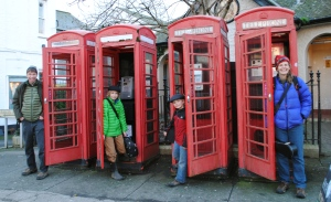 Crow Valley String Band phone booths